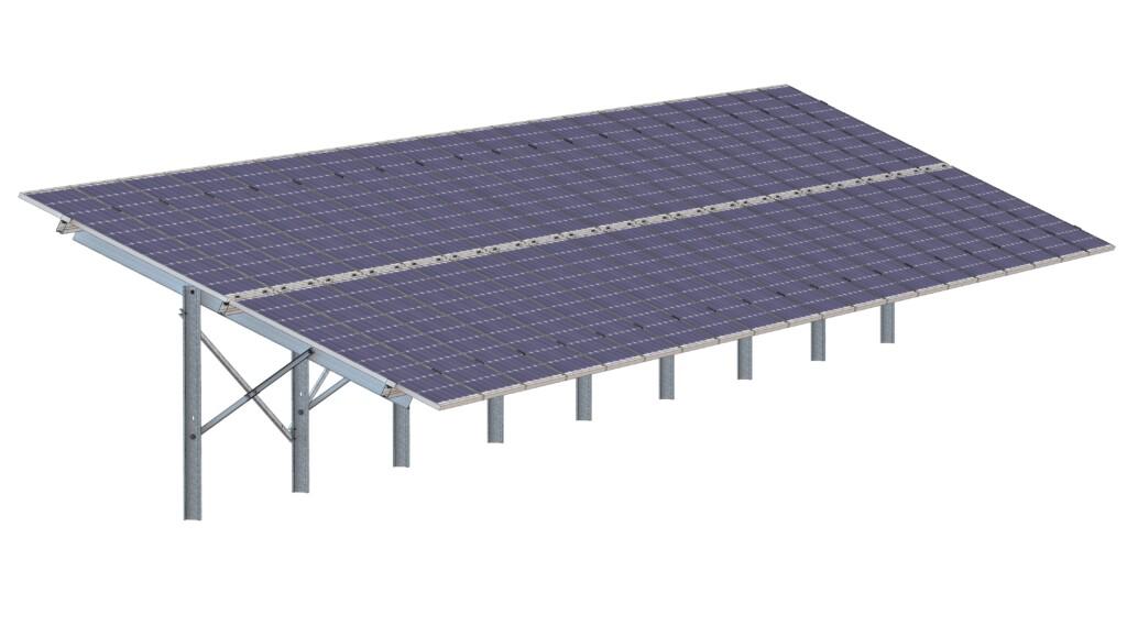 Montagesystem für PV-Freilandanlagen