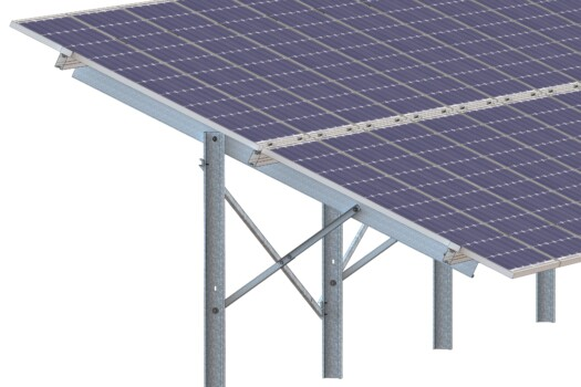 Freiland PV-Montagesysteme