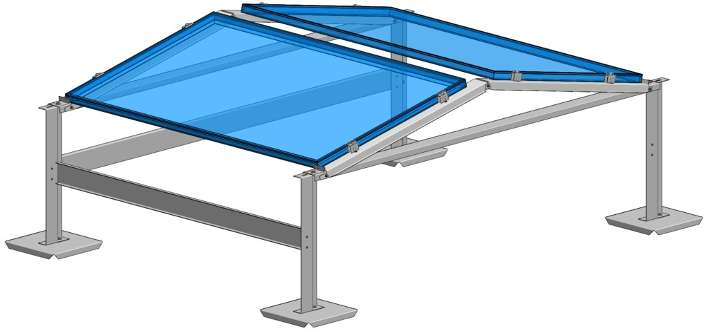 Flexibles Photovoltaik Montagesystem